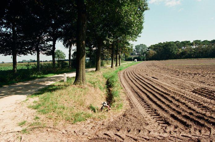 Buurtschap Vuchtschoot, ten zuidwesten van Breda.