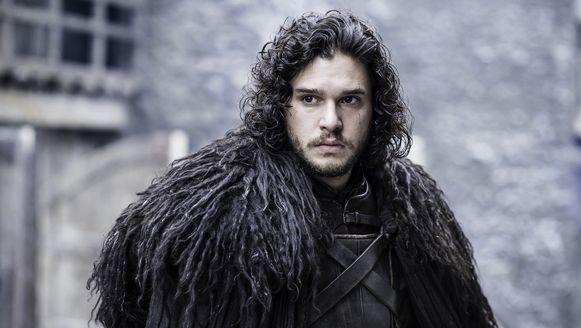 Jon Snow in de serie Game of Thrones.