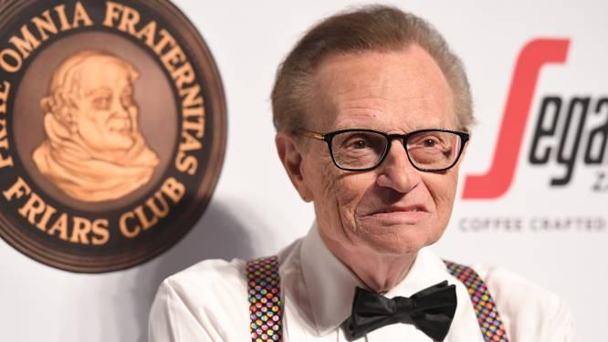 Talkshowlegende Larry King overleden op 87-jarige leeftijd