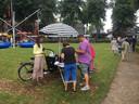 Citymarketing zet in Oisterwijk een infobakfiets in