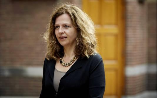 Minister Edith Schippers, Volksgezondheid, Welzijn en Sport.