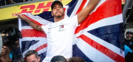 Lewis Hamilton anobli par la reine Elisabeth II