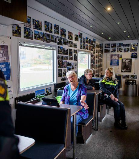 Wat deed die vrachtwagen van de politie vanmorgen in Enschede?