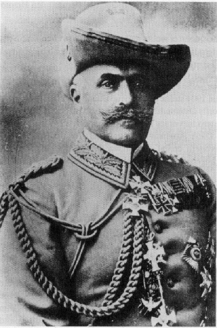 Generaal Lothar von Trotha. Beeld nb