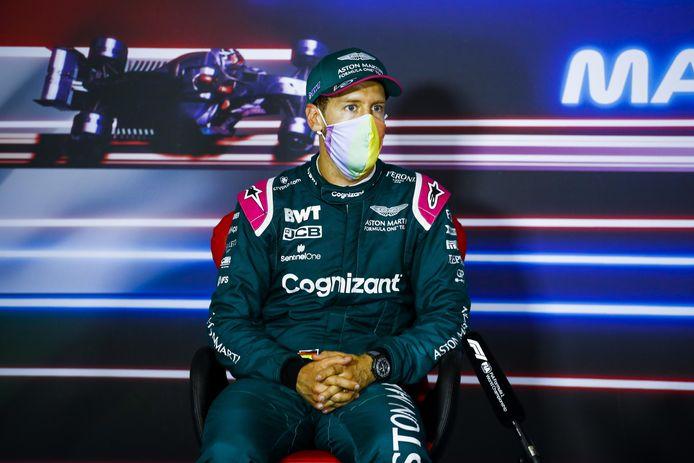 Sebastian Vettel au Grand Prix de Hongrie.