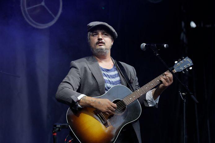 L'interprète britannique de rock Pete Doherty lors de la Fête de la musique 2021 aux Arènes de Lutèce, à Paris, France, le 21 juin 2021.