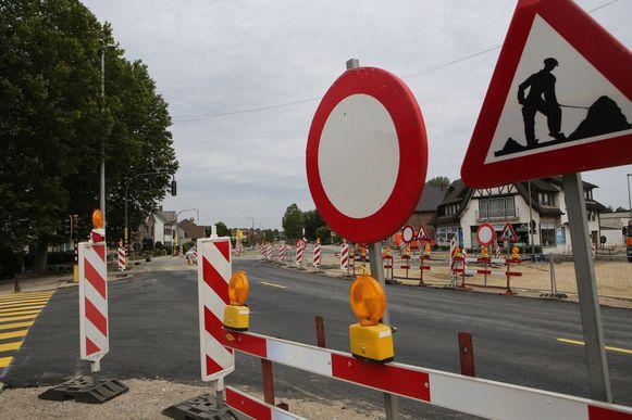 Bergévest in Tienen is opnieuw open voor verkeer.
