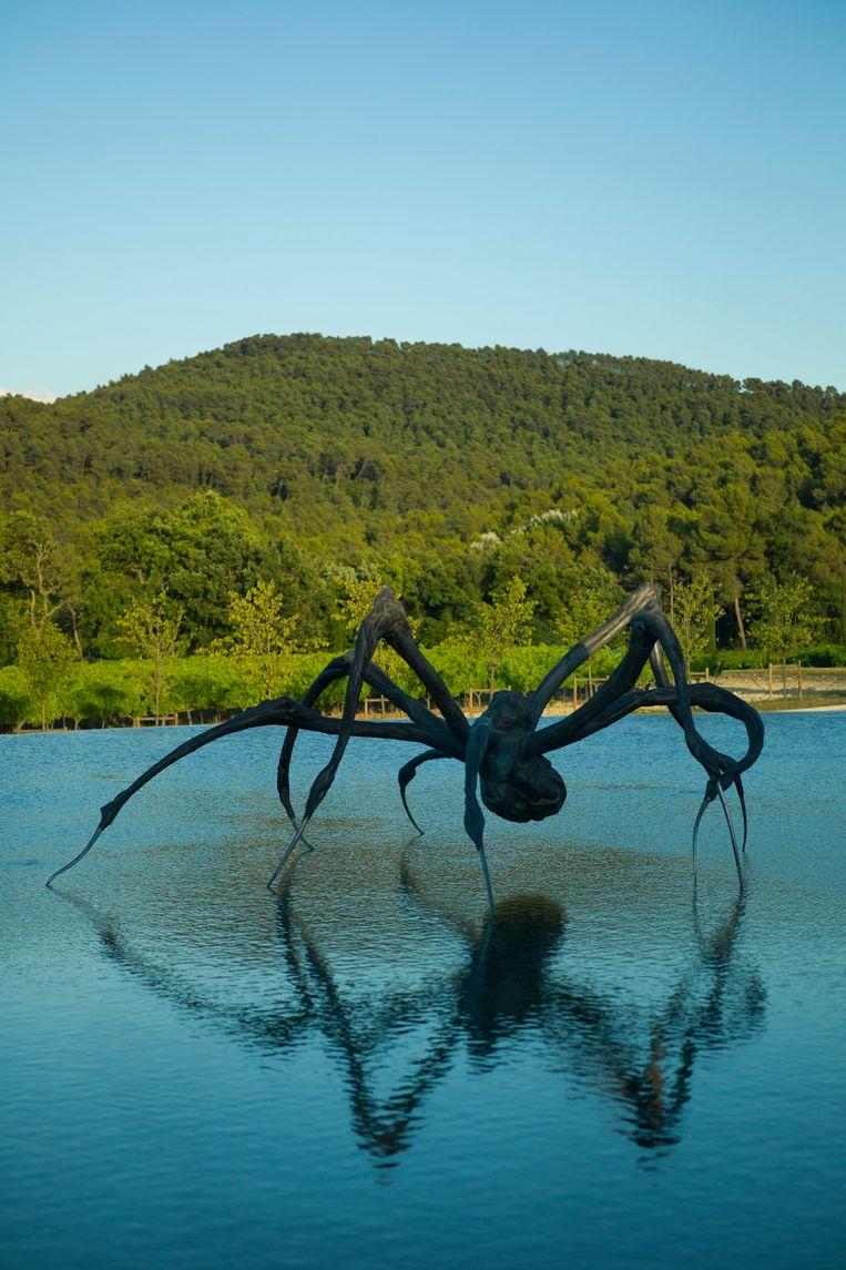 'Crouching Spider' van Louise Bourgeois. Beeld Andrew Pattman