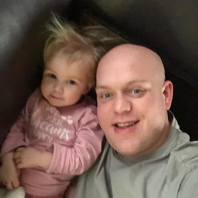 MVG en zijn dochtertje.