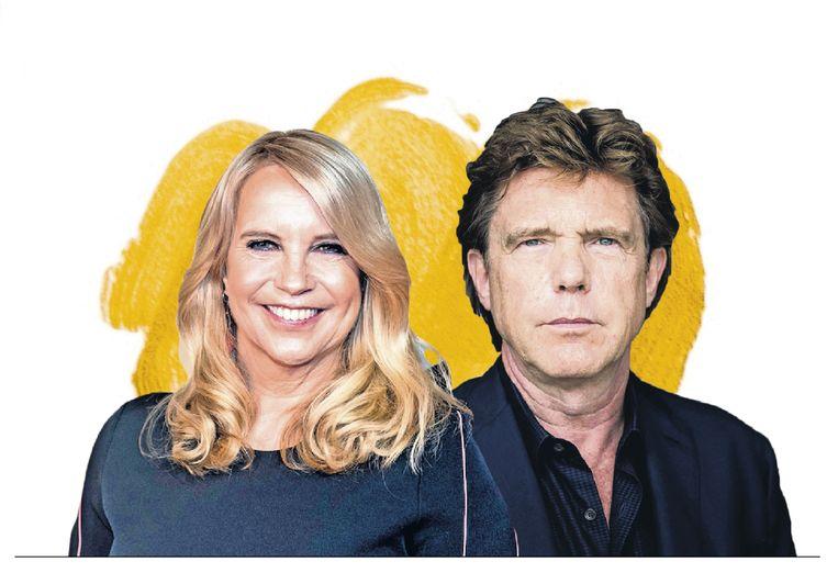 De Gouden John en Linda de Mol. Beeld