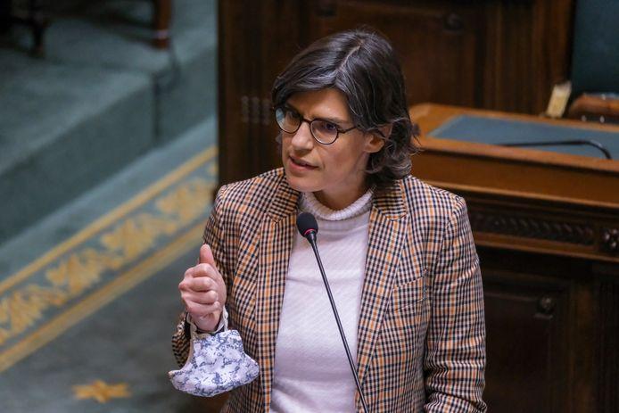 Energieminister Tinne Van der Straeten.