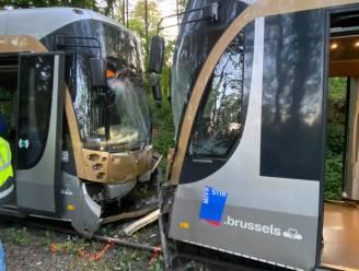 Zes gewonden bij botsing tussen twee trams