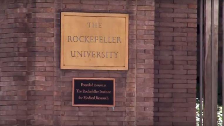 Fragment uit de video 'Working at the Rockefeller University' op YouTube. Beeld