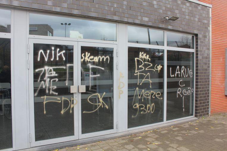 Vandalisme aan de lokalen van Buurtwildt.