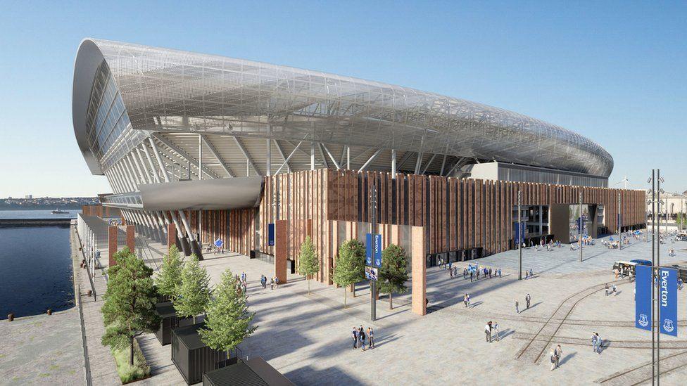 Het Bramley-Moore Dock Stadium zal in het seizoen van 2024-2025 openen, normaal midden in de Unesco-site.