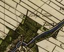 De Lange Taam in Maasland op een oude kaart.