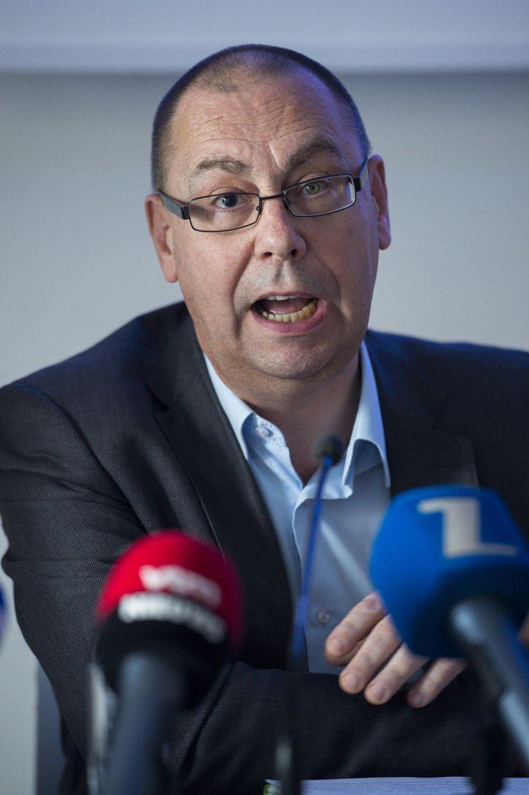 ACV-voorzitter Marc Leemans. Beeld BELGA