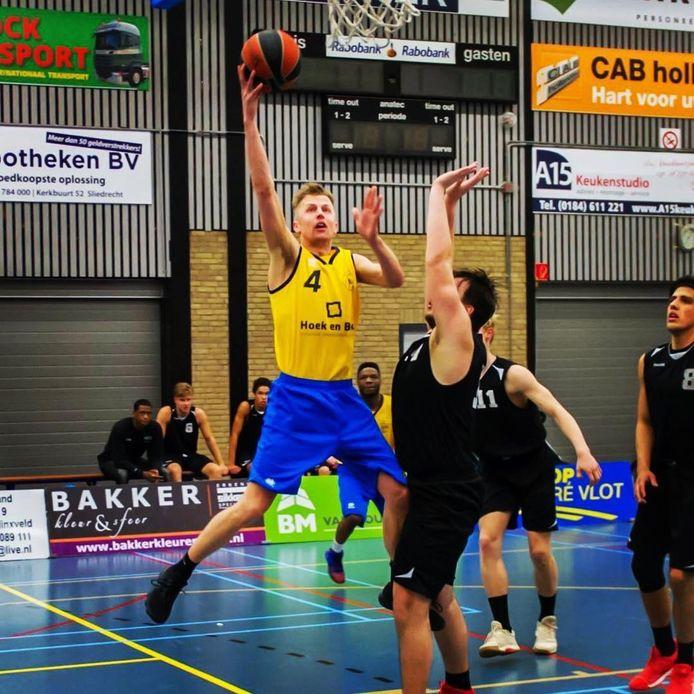 Nick van der Werf: ,,We gaan ook in het bekertoernooi volle bak voor de overwinning.''