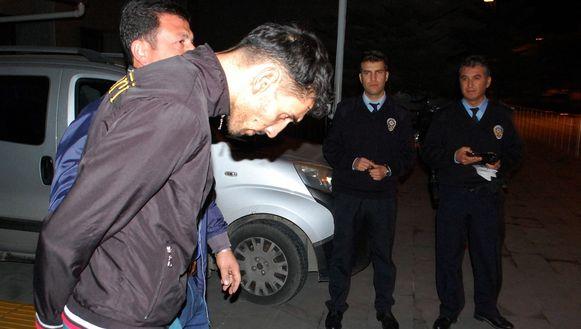 De 26-jarige Belg Ahmet Dahmani werd op 20 november 2015 in Antalya opgepakt.