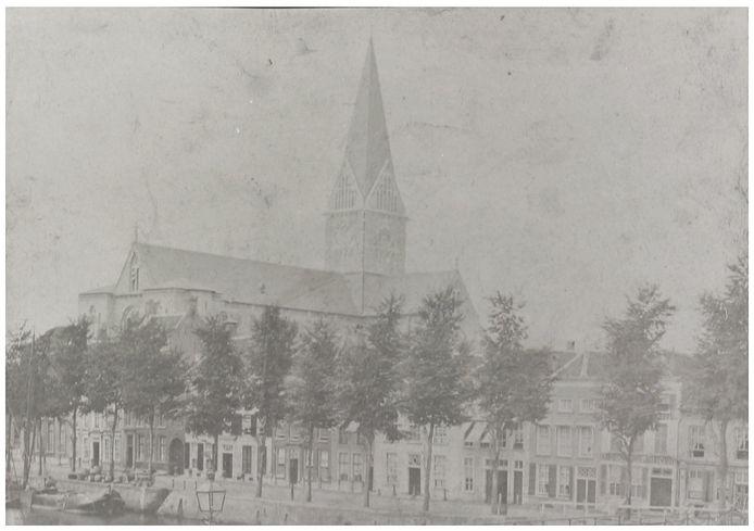 De latere Barbarakathedraal vlak na de oplevering rond 1867