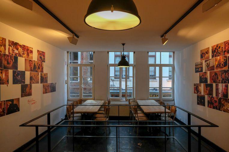 Tentoonstellingsruimte in Dolle Mol.