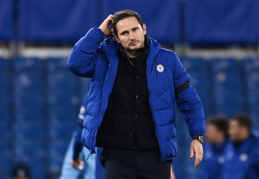 Frank Lampard is na anderhalf jaar ontslagen als coach van Chelsea.