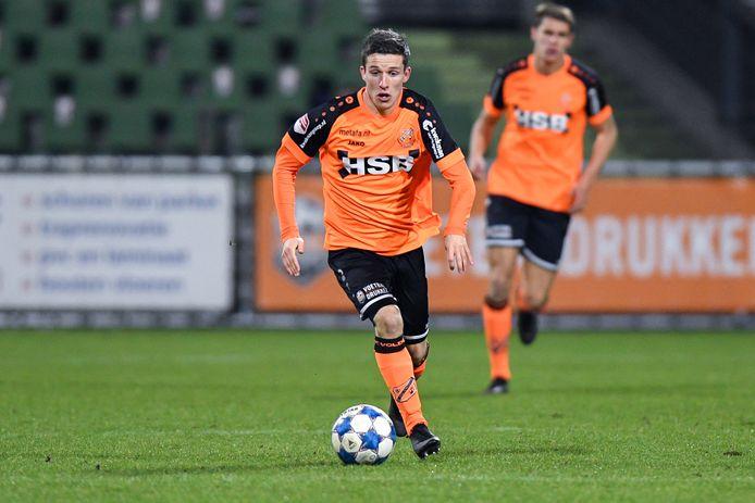 Nick Doodeman in actie voor FC Volendam