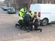 Bestuurder van geramd busje aangehouden na uitschelden agenten
