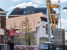 Verbouwing café De Kloek een eind op scheut