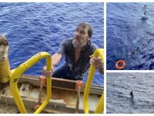 Man overleeft twee dagen op zee door zich vast te klampen aan zijn omgeslagen motorboot