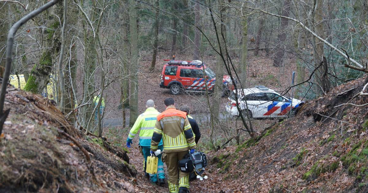Zwaargewonde mountainbiker met spoed naar ziekenhuis gebracht na ongeval in Loonse en Drunense Duinen.