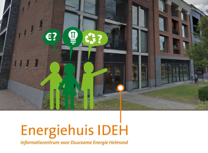 Beeld uit de folder die stichting Energiehuis heeft gemaakt.
