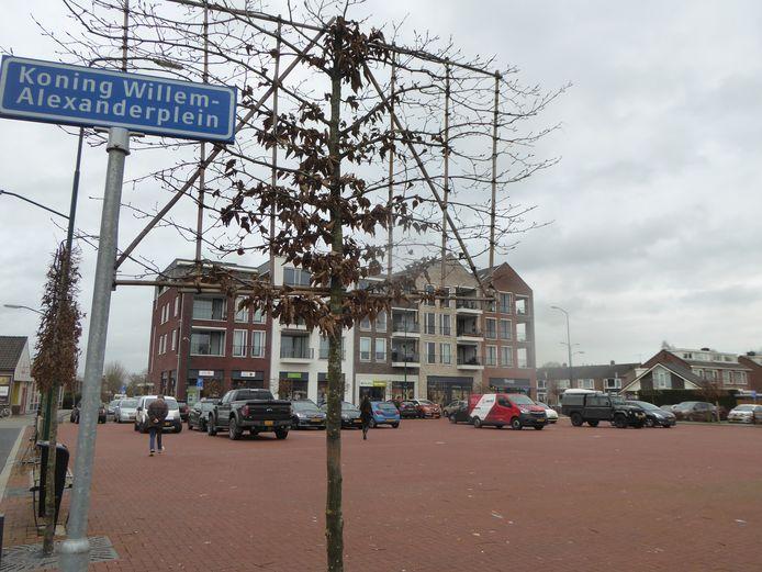 online gepl. en betaald Het Koning Willem-Alexanderplein was toneel van onrust tijdens de jaarwisseling.