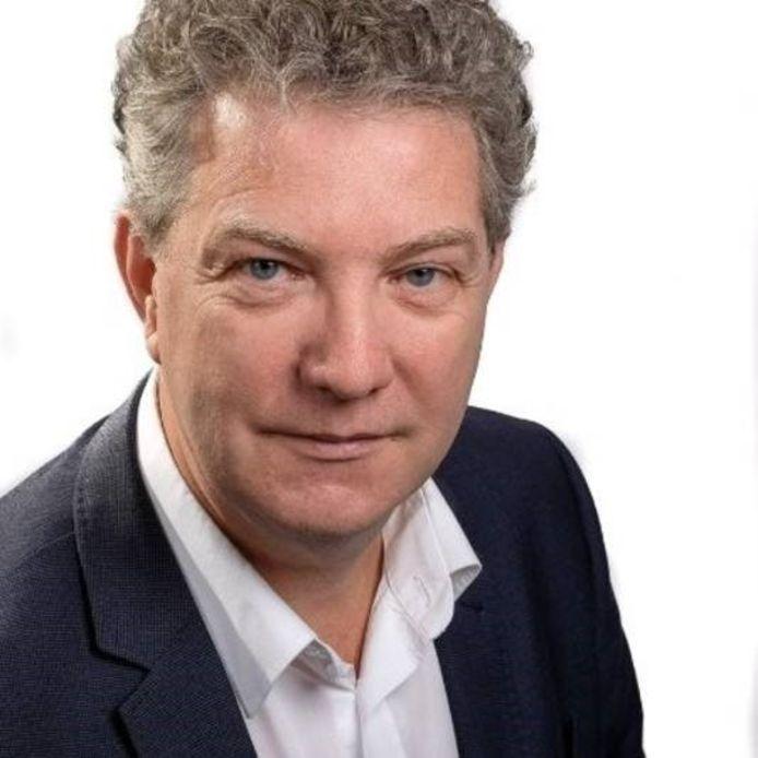 Vincent Schouten, sinds maandag 10 mei interimbestuurder bij GGZ WNB in Halsteren. Hij blijft acht maanden. Dan moet er een opvolger zijn gevonden voor Ineke Strijp die plotsklaps vertrok.