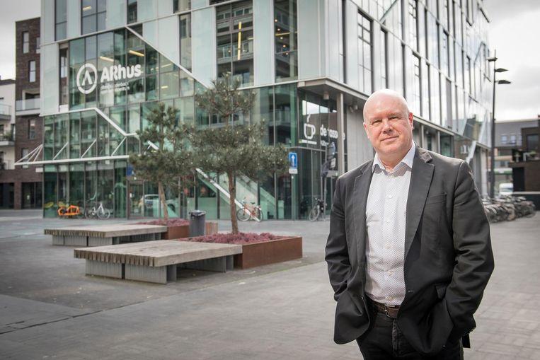 Algemeen directeur Yves Rosseel van ARhus.