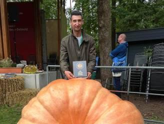 Na brons nu ook goud voor pompoenenkoning Wouter De Wever in Bad Lippspringe