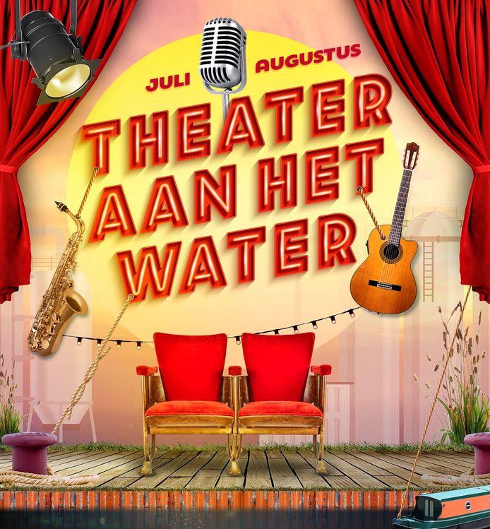 Nieuw deze zomer: De Blauwe Kei, Theater Aan het Water.