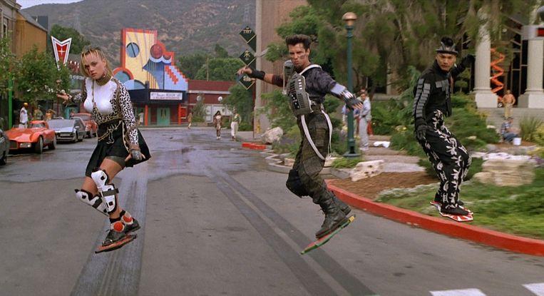 De belagers van Marty McFly in Back to the Future 2. Beeld