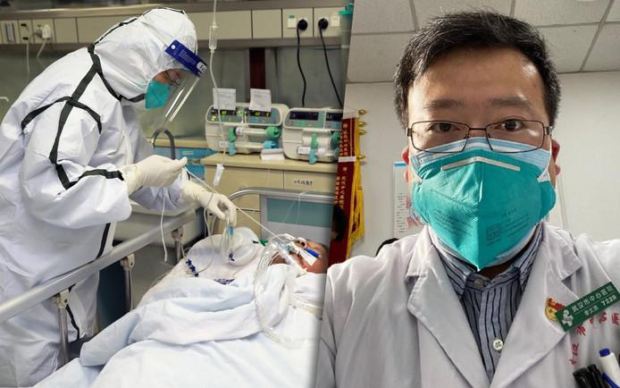 Li Wenliang was een van de eersten die waarschuwden voor het nieuwe coronavirus.