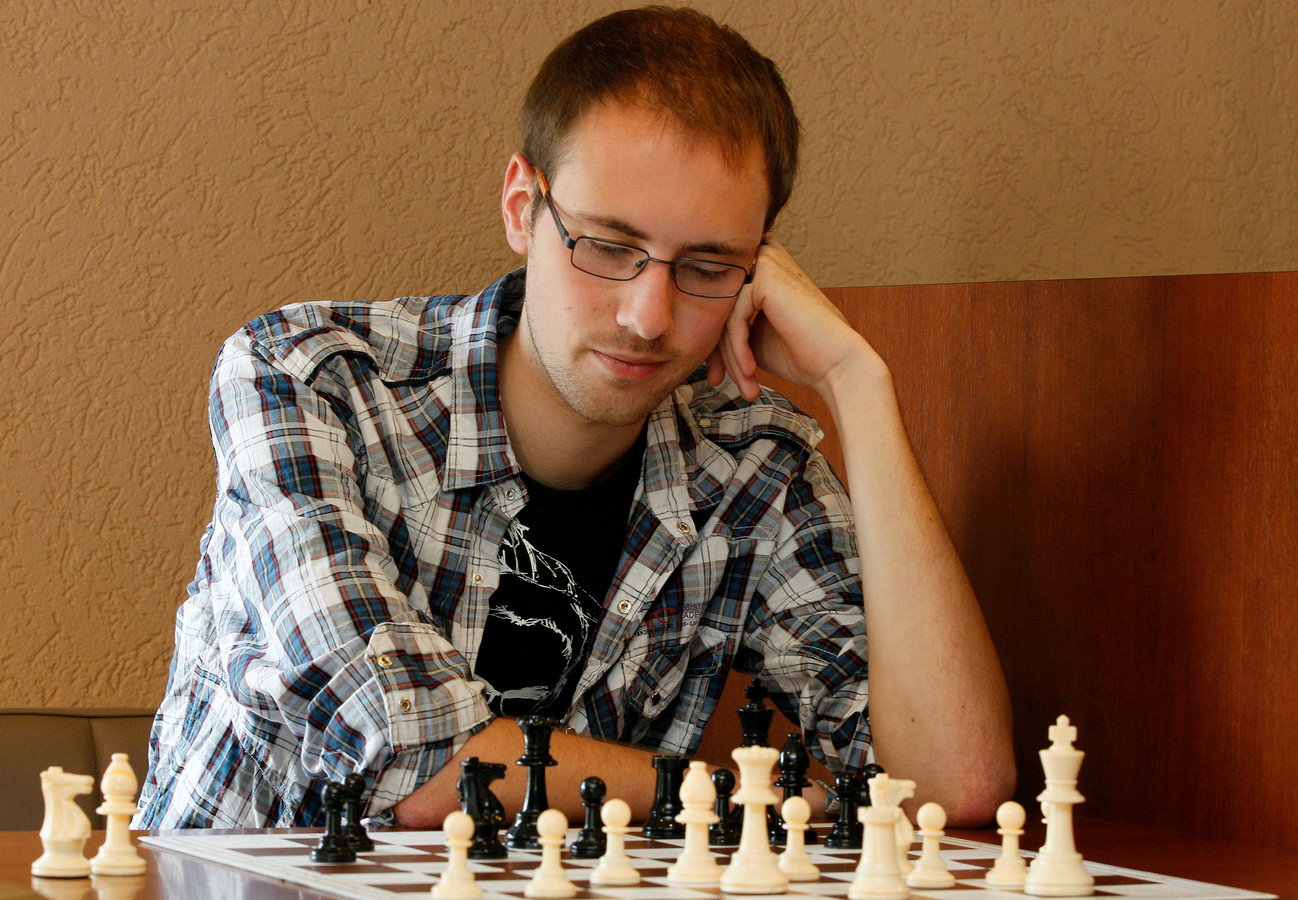 Stefan Kuipers, teamcaptain van bekerwinnaar Apeldoorn.