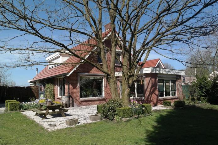 De woning van Johan van Drunen en zijn ex in Den Ham.