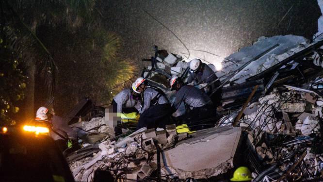 Reddingsteams zoeken met moed der wanhoop naar overlevenden in puin ingestort flatgebouw in Florida: geklop en andere geluiden gehoord, geen stemmen