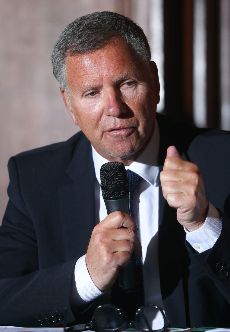 Alain Courtois (MR). Beeld BELGA
