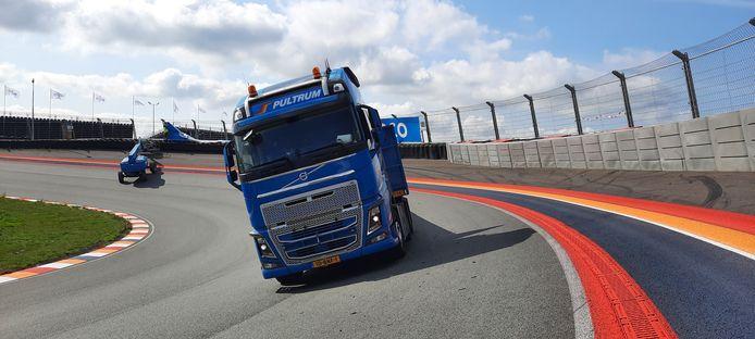 De pk's konden even los op Circuit Zandvoort.