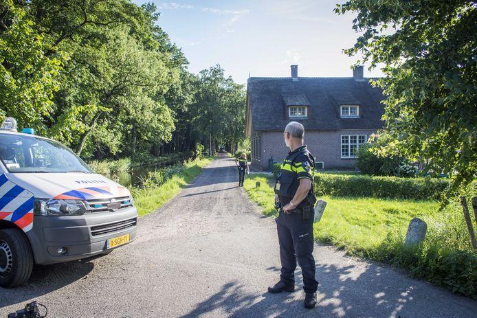 De politie zocht geruime tijd naar de man.
