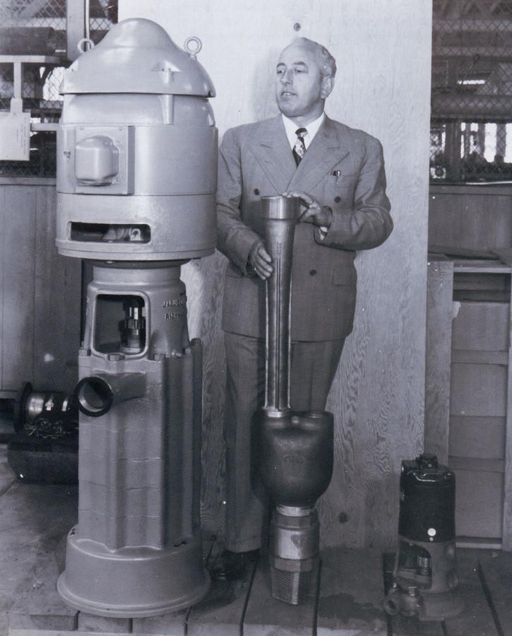 Candido Jacuzzi (1903-1986).