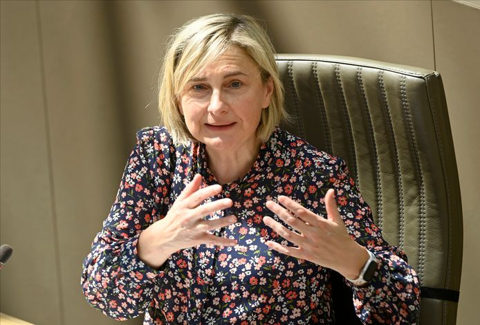 Vlaams viceminister-president Hilde Crevits.