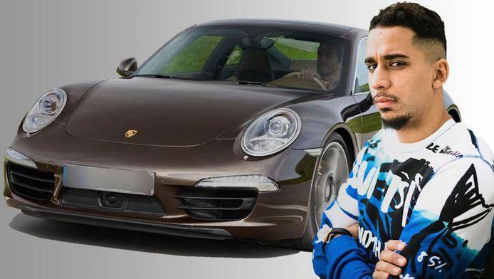 De Porsche van Yassine El Ghanassy werd eerder al verbeurd verklaard.