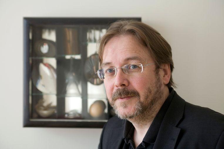 Professor van Modern European Literature Joep Leerssen, aan de Universiteit van Amsterdam. Beeld Hollandse Hoogte / Hans van den Bogaard
