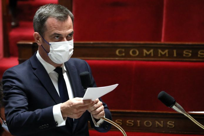 Frans minister van Volksgezondheid Olivier Véran.
